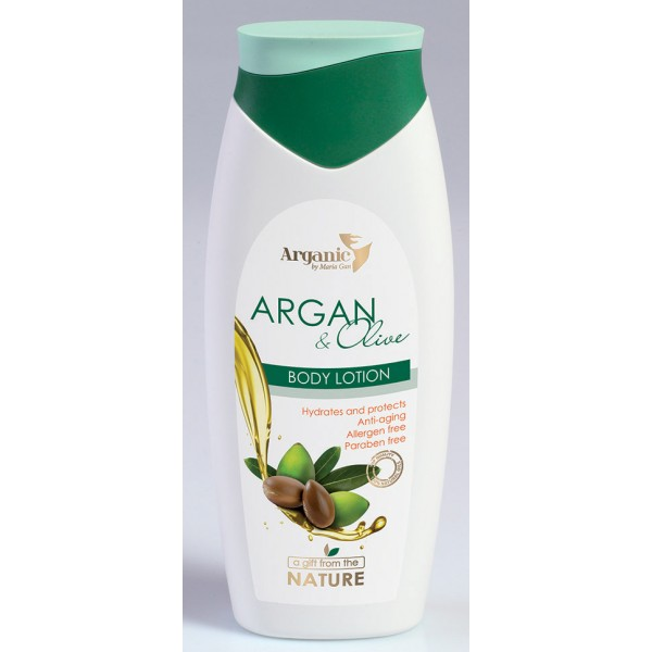 Body Lotion Arganic 400 ml